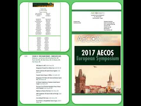 Prague 2017, AECOS Eye meeting #AshrafArmia