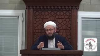 Aylık Sohbet 12 Ocak 2017, Ahmed Emin Hoca Efendi, Mahmud Efendi Külliyesi