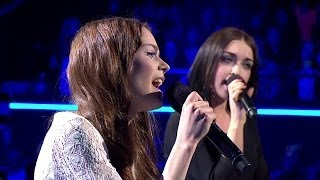 "The Voice of Poland IV - Kasia Sawczuk vs Maja Gawłowska ""Angel"