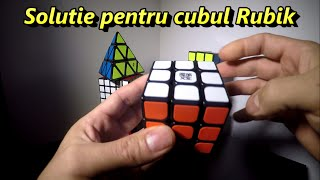 Solutie   cubul Rubik 3x3x3 pentru incepatori