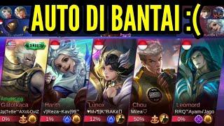 MUSUH DAPET HERO OP SMUA ! AUTO DI BANTAI