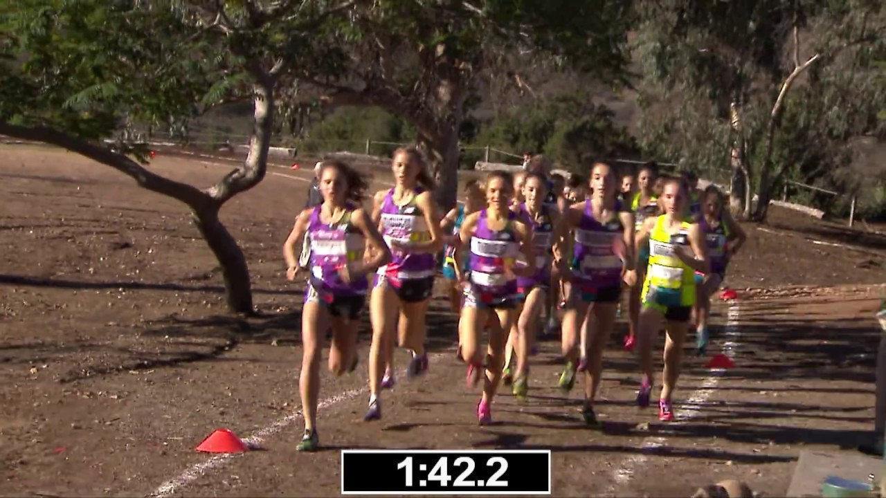 2018 Foot Locker CC National Championship Girls Race