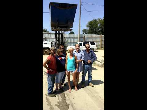 McCoy Iron & Metal Ice Bucket Challenge Fail