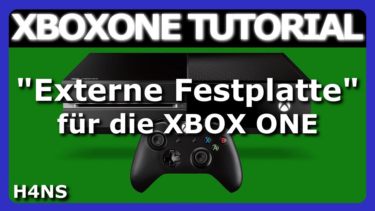 externe festplatte an xbox one tutorial deutsch german. Black Bedroom Furniture Sets. Home Design Ideas