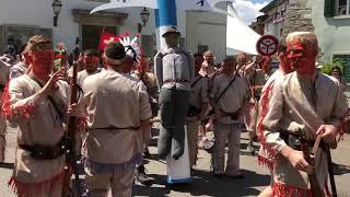 Lenzburger Jugendfest Freischarenmanöver 2018 - Indianer