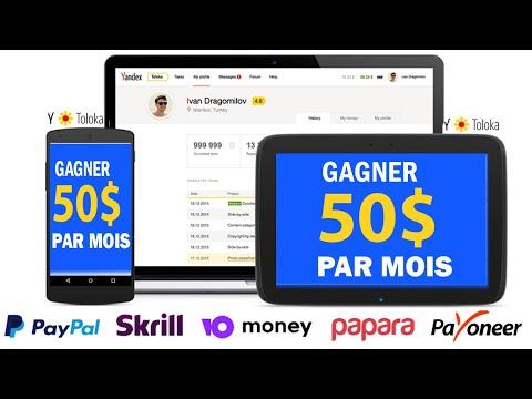 GAGNER JUSQU'A 50$ / Mois SANS AUCUN INVESTISSEMENT (PayPal Facile) [Toloka Yandex]