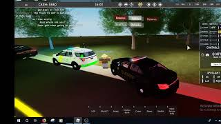 Roblox | Backwoods Law RP | Playing as a Sheriff Deputy!