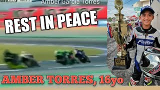 AMBER TORRES RACE ACCIDENT | ACTUAL DEATH FOOTAGE
