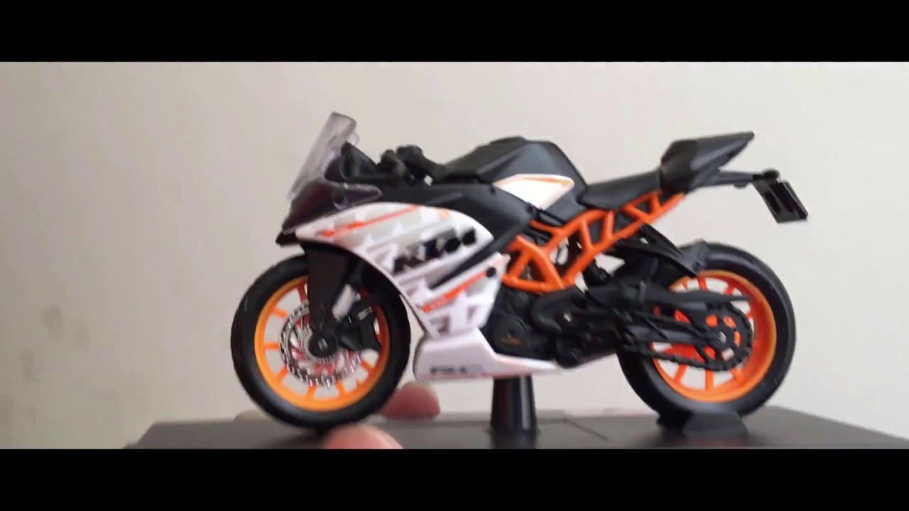 Ktm Rc 390 Unboxing Model Toy Bike Amazing Toy For Kids Youtube