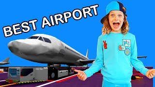 BEST AIRPORT IN ROBLOX WINS - Gaming w/ The Norris Nuts
