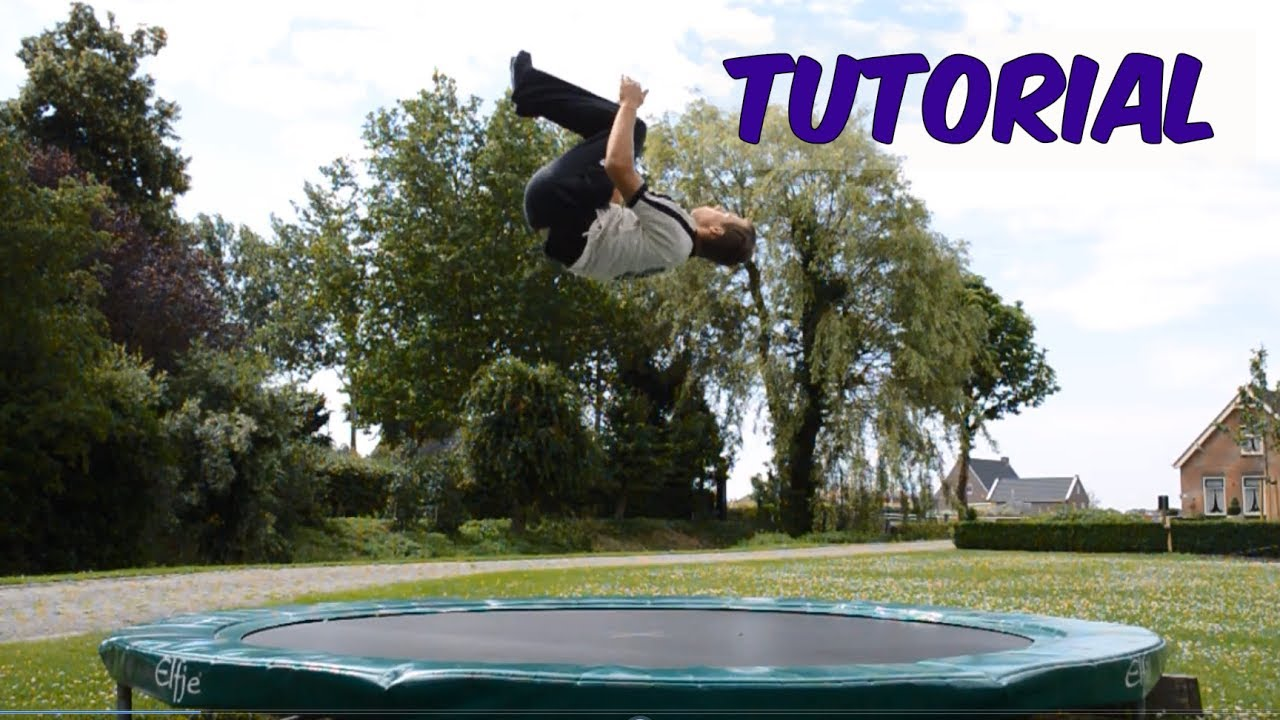 Tutorial: how to do a backflip on a trampoline {cringe} youtube.