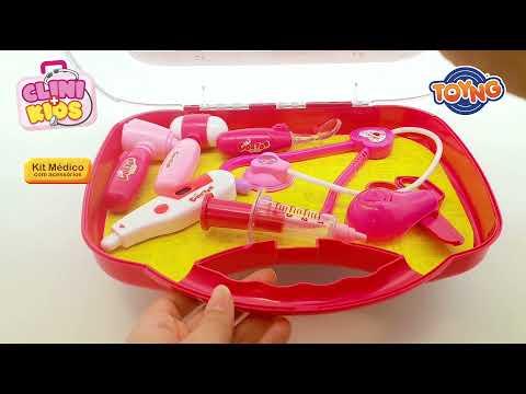 Kit médico Grande na Maleta - Clini Kids - 42602