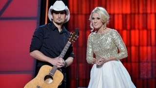 Carrie Underwood and Brad Paisley Make Fun of Taylor Swift!
