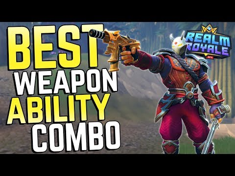 The Best Ability + Weapon Combo in Realm Royale!
