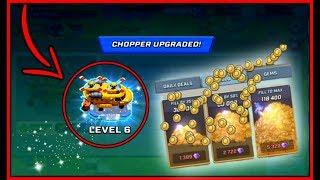 LEVEL 6 CHOPPER UPGRADE! // Rush Wars