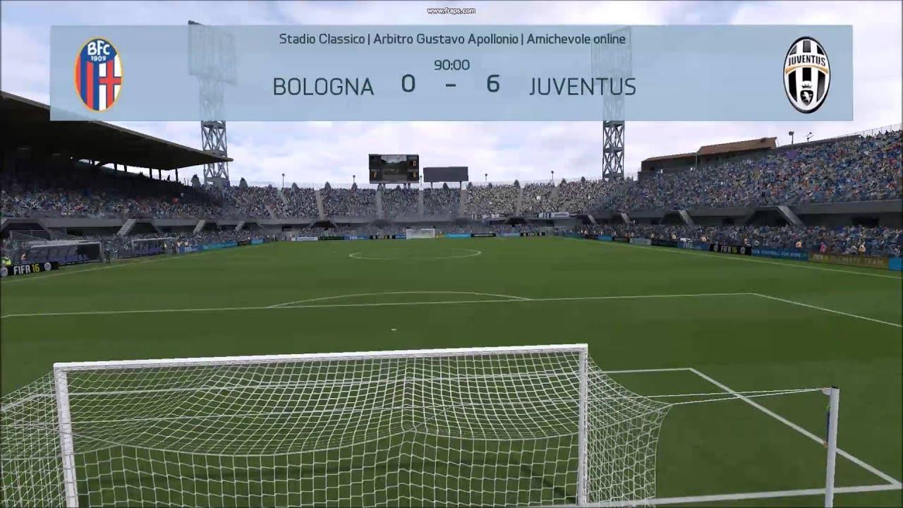 Serie A Bologna Juventus 0 6 Youtube