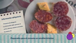 Requisitos del etiquetado de alimentos