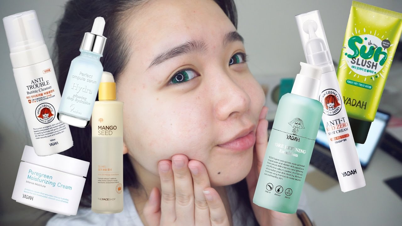 best korean skincare products for acne scars?