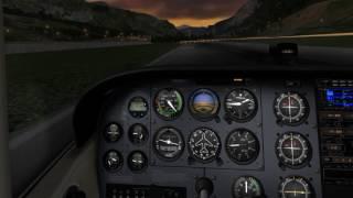 X-Plane 10 Trackir 5 Smooth Test 1er vol teste de fluidité Trackir 5