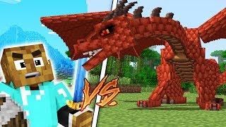 KILLING A LEVEL 5 DRAGON - MINECRAFTS BEST RPG ADVENTURE - FALLEN KINGDOMS MODDED MINECRAFT #9