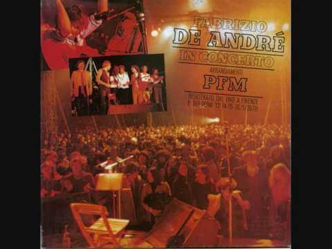 Andrea fabrizio de andr pfm in concerto youtube - La finestra di fronte andrea guerra ...