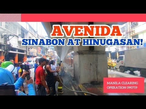 AVENIDA SINABON AT HINUGASAN | MANILA CLEARING OPERATION 09/07/19