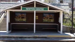 MBTA Green Line: Newton Centre station