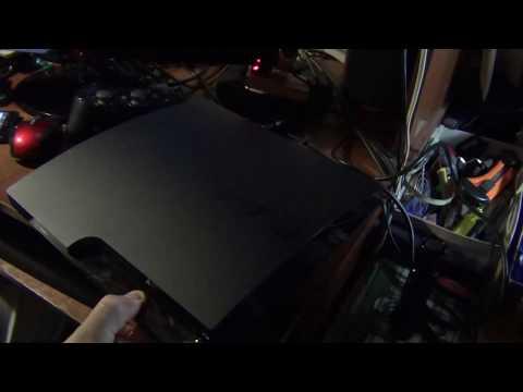 Режим продувки PlayStation 3 (чистим от пыли не разбирая ;)) (cut)