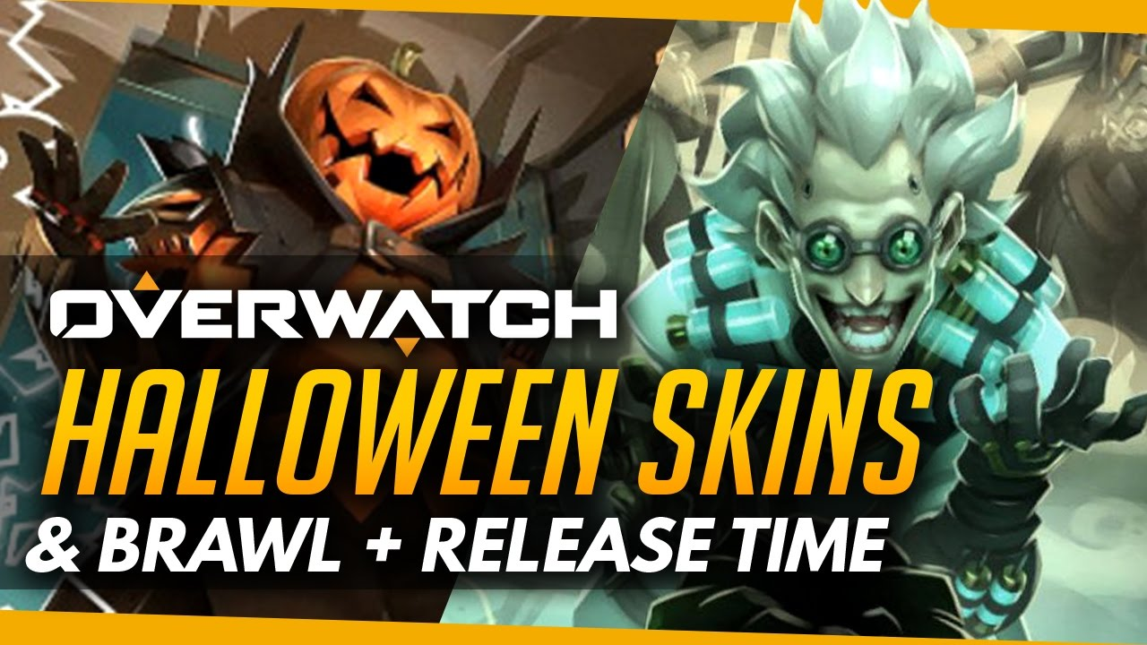 Overwatch | HALLOWEEN SKINS AND BRAWL - Comic/Sombra Leak - YouTube