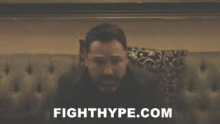 DE LA HOYA EXPLAINS A LOT AT STAKE FOR CANELO VS. GOLOVKIN, LIKE SAVING HOPKINS TITLE DEFENSE RECORD
