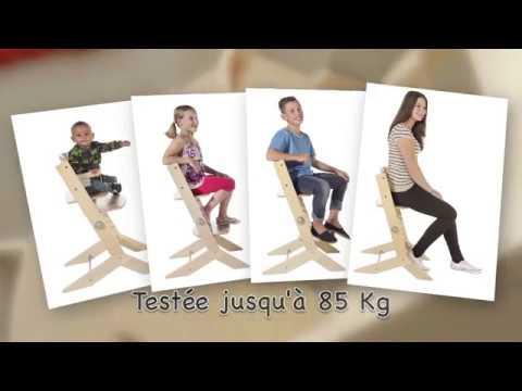 Chaise Haute Evolutive En Bois Syt De Geuther Youtube