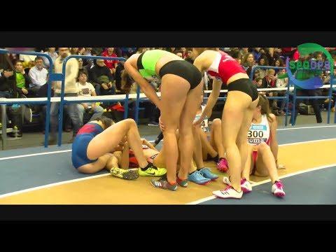 Spanish Athletics Indoor | 2018 Highlights | Girls Of Spain | ᴴᴰ