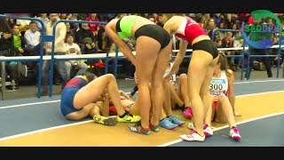 Spanish Athletics Indoor | 2018 Highlights | Girls of Spain | ᴴᴰ