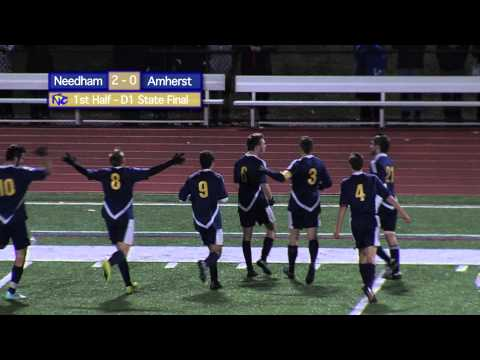 Boys Soccer, Needham vs. Amherst, 11-22-14