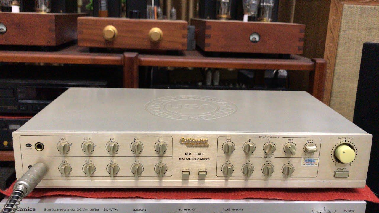 Mixer Vang Tiếng 1 Thời California MX-888E