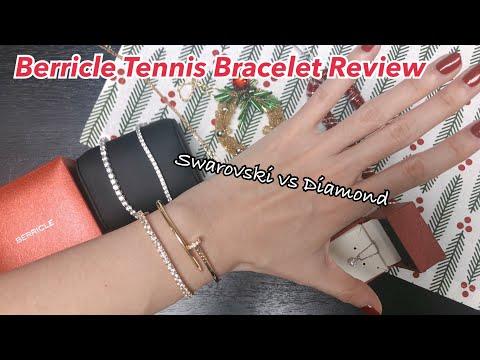 Berricle Review   Swarovski tennis bracelet   Christmas jewelry gift