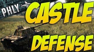 War Thunder Tanks! Panther Tank- Su-122 Defense Of Castle Blanco - War Thunder Ground Forces