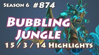 cj entus bubbling hecarim jungle kr lol soloq highlights