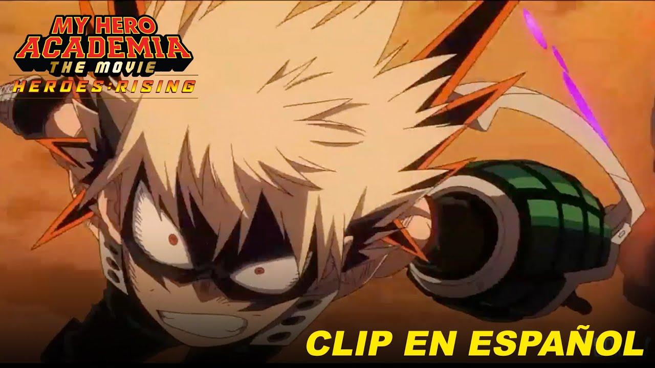 My Hero Academia: Heroes Rising, Clip #2 Doblaje en Español Latinoamericano.