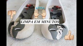 MELISSA LIMPA EM MINUTOS | Como limpar Melissas