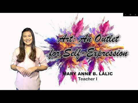 Download Art: An Outlet for Self Expression