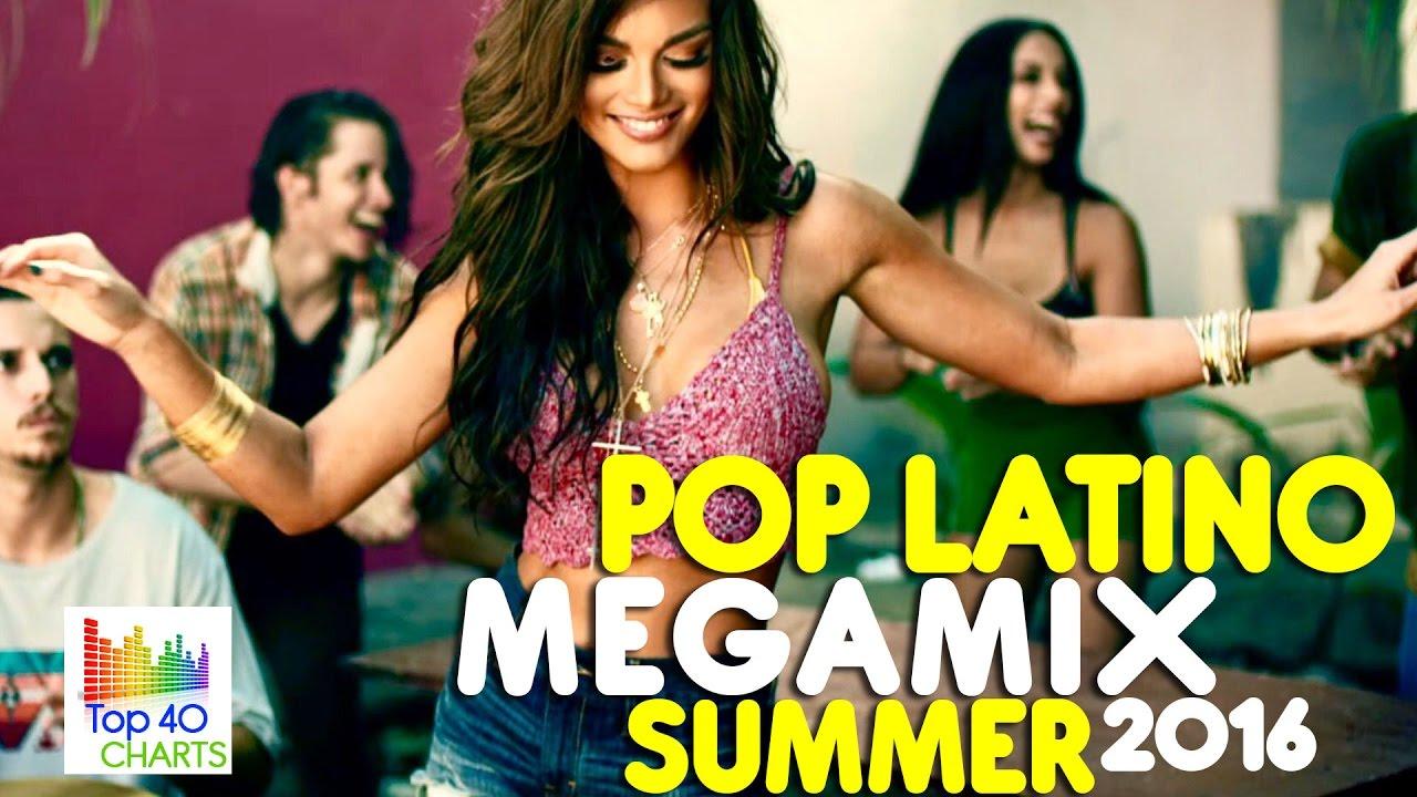 Pop Latino Summer  Mega Mix Hd  E   Latin Pop  E   Luis Fonsi Enrique Iglesias Prince Royce Shakira