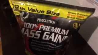 Обзор Muscletech 100% Premium Mass gainer