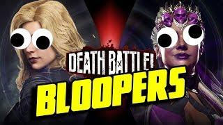 Black Canary VS Sindel BLOOPERS!