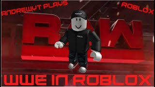 AndrewYT Plays Roblox #172 / WWE Raw Minigames / Wrestling In ROBLOX