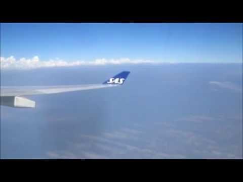 SAS flight home - Copenhagen, Denmark to Chicago, Il