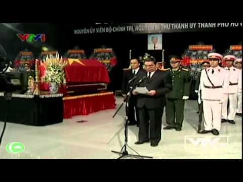 Chủ tịch nước Trương Tấn Sang tham dự Lễ truy điệu đồng chí Võ Trần Chí
