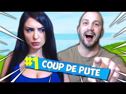 FORTNITE COUP DE P*TE EN COUPLE ! PRANK RAGEQUIT !