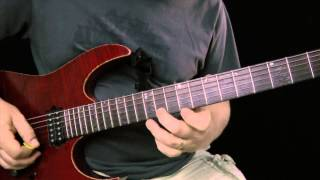"6 awesome ""Steve Vai"" licks - Guitar Lesson"