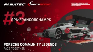 Porsche Community Legends – Weekly Final 3: Spa-Francorchamps
